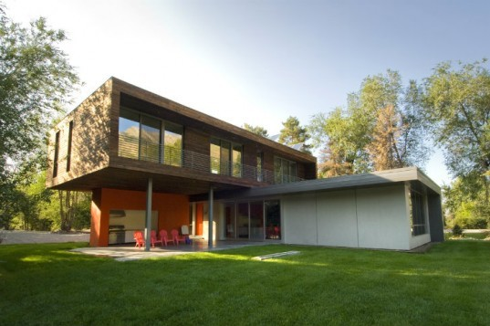 Cantilever House, Imbue Design, solar house, utah, salt lake city, energy efficient house