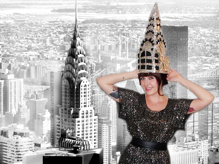 Diy how to make an iconic chrysler building halloween costume diy make this iconic chrysler building halloween costume solutioingenieria Gallery