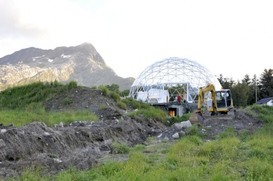 Heartfollowers, solar dome, cob house, Norway, permaculture, green design, sustainable design, eco-design, wastewater treatment, natural materials, natural ventilation