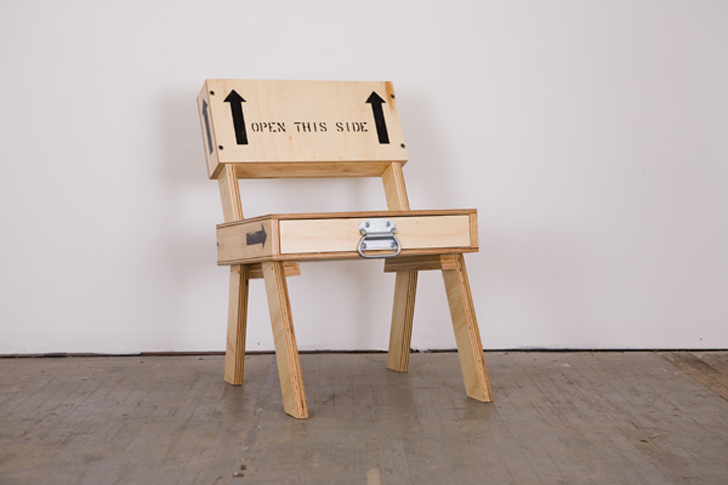 Crate Chairs From Autumn Workshop