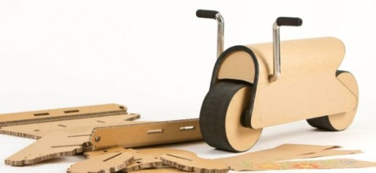 Wei-Chih Hsu, build-it-yourself bike, diy bike, D-Bike, flat-pack cardboard kid's bicycle , puzzle bike, jigsaw bike, 2012 Red Dot Design award winner