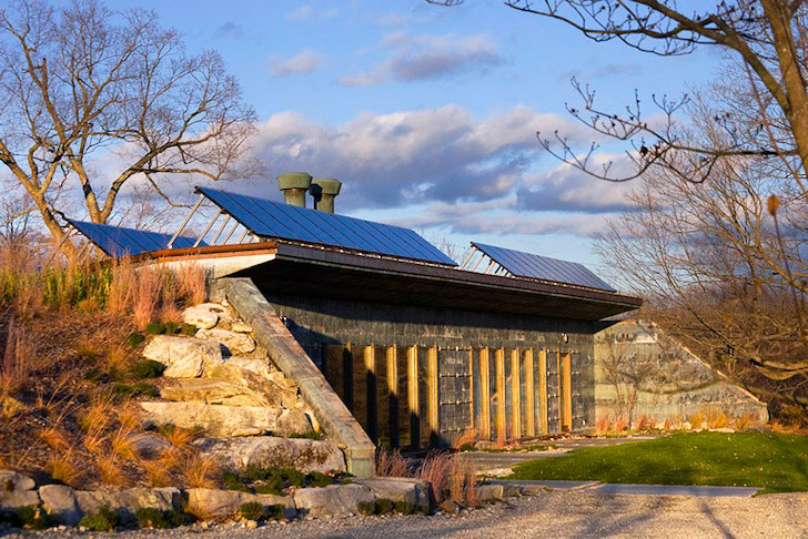 Solar-Powered, Carbon Neutral Earth-Bermed House is Made Entirely ...