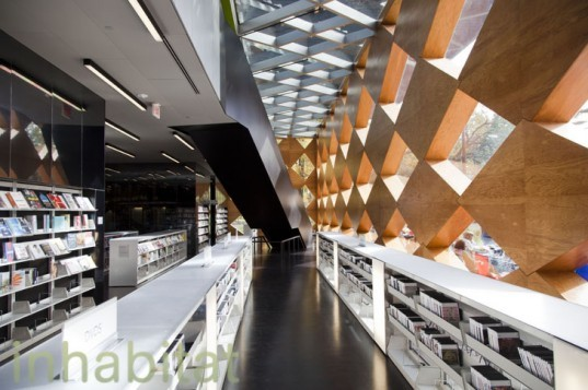 Francis Gregory Library, Washington DC, Adjaye Associates, David Adjaye, LEED Silver, passive solar