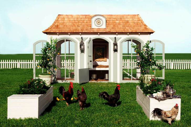 Neiman Marcus Selling $100,000 Fantasy Hen House & Farming Lessons ...