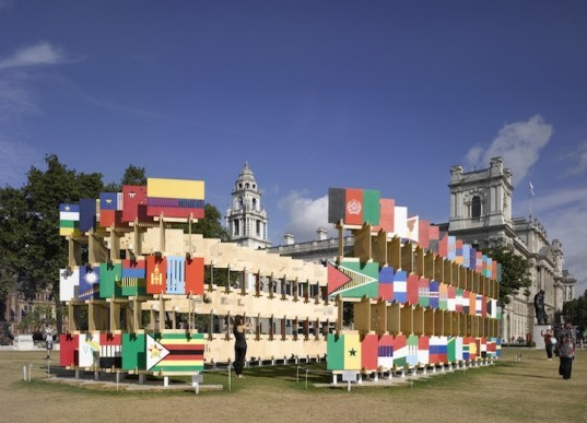 Parliament, House of Flags, London, AY Architects, England, Politics, Architecture, FSC-Certified Wood, CNC, green design, sustainable design, eco-design