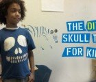DIY: How to Make this Simple, Spooky Cut-Out Skull T-Shirt for Halloween