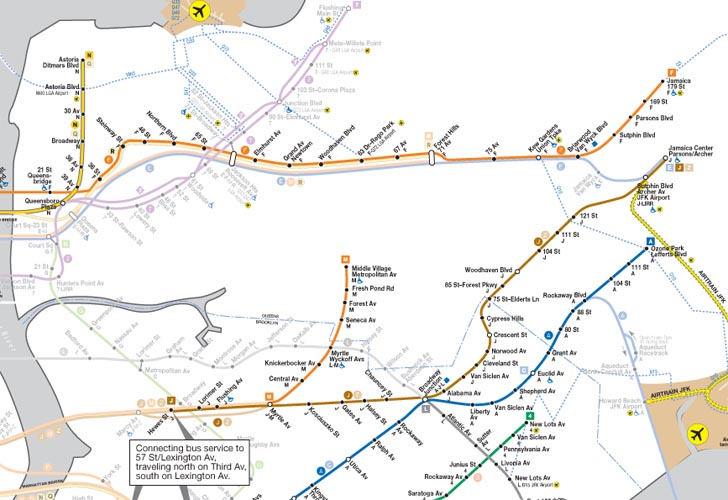 Jay Street Borough Hall Subway Map.See Which Nyc Subway Lines Are Running Today