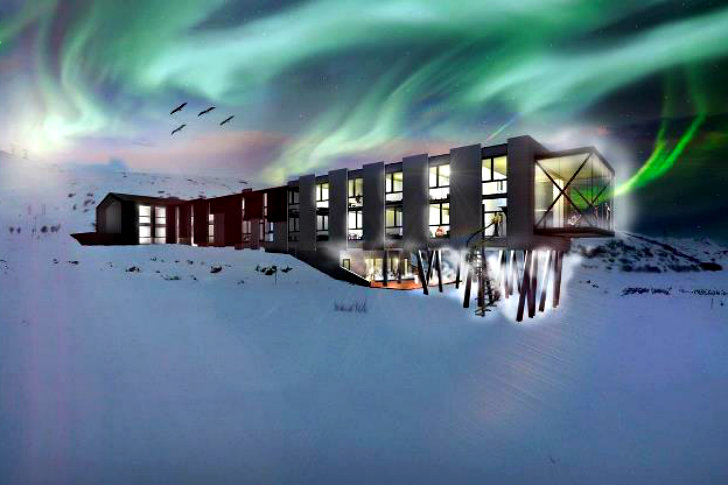 minarc 39 s prefab ion adventure hotel is set to open in the spring of 2013 in iceland inhabitat. Black Bedroom Furniture Sets. Home Design Ideas