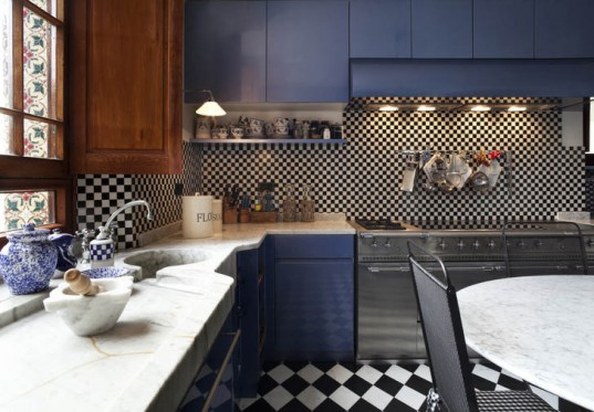 kitchen, blue kitchen, modern kitchen, kitchen design, beautiful kitchen