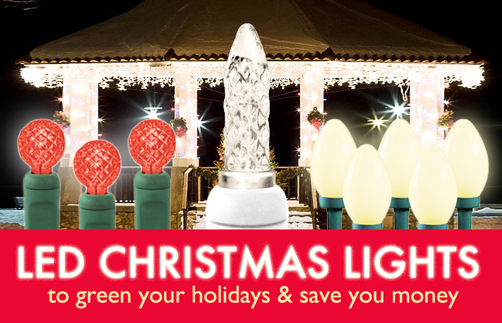Green Christmas Lights.8 Festive Led Christmas Lights To Save You Energy Green