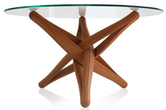 J.P.Meulendijks, LOCK Table, Bamboo Table, sustainable furniture, bamboo furniture