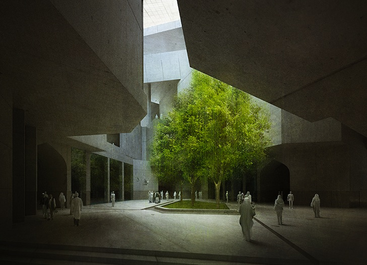 Foyer Interior Amp Architecture : Timeless cube afghanistan by mca « inhabitat green