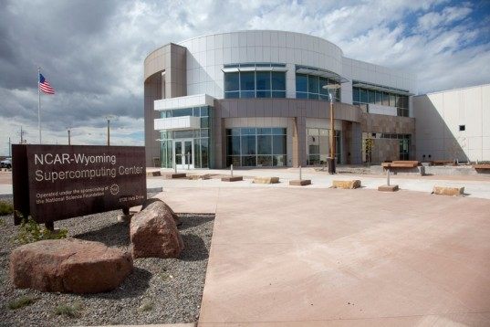 NCAR-Wyoming Supercomputing Center, yellowstone, geosciences, earthquakes, climate change, global warming, The National Center for Atmospheric Research (NCAR) , wind farm, wind power, LEED certification, green building