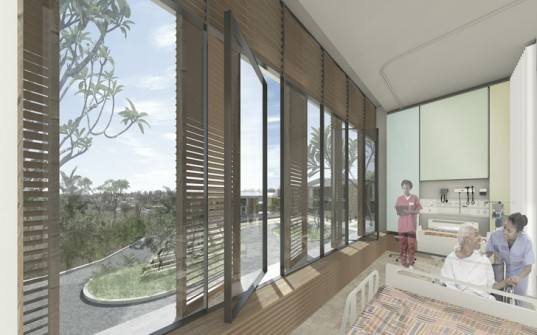 Kenya Women and Children's Wellness Centre, Nairobi, Kenya, Perkins+Will, James R. Jordan Foundation, Public Health, Hospital, Health, Sustainable, Design, sun shading, daylighting, natural ventilation