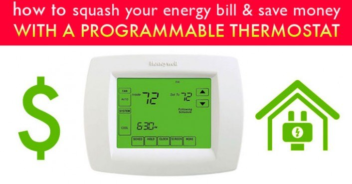 How A Programmable Thermostat Can Save You Money  U0026 Squash