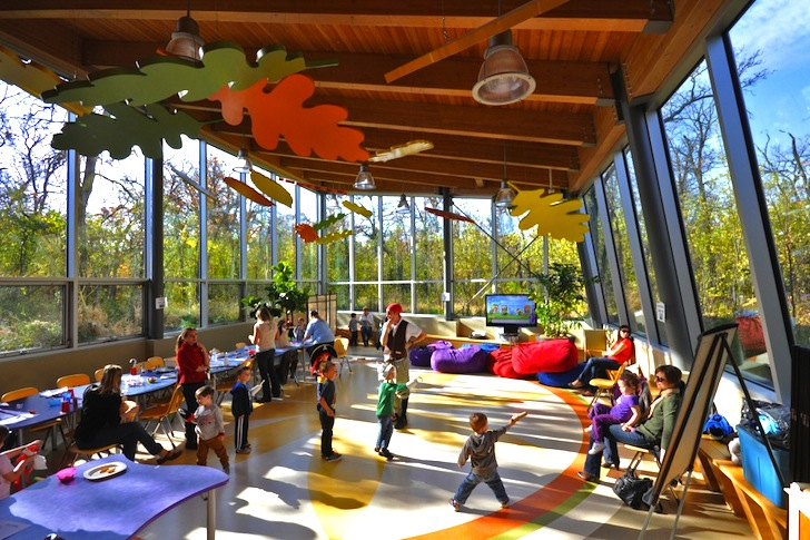 Green Roofed Qualico Family Center Is An Elevated