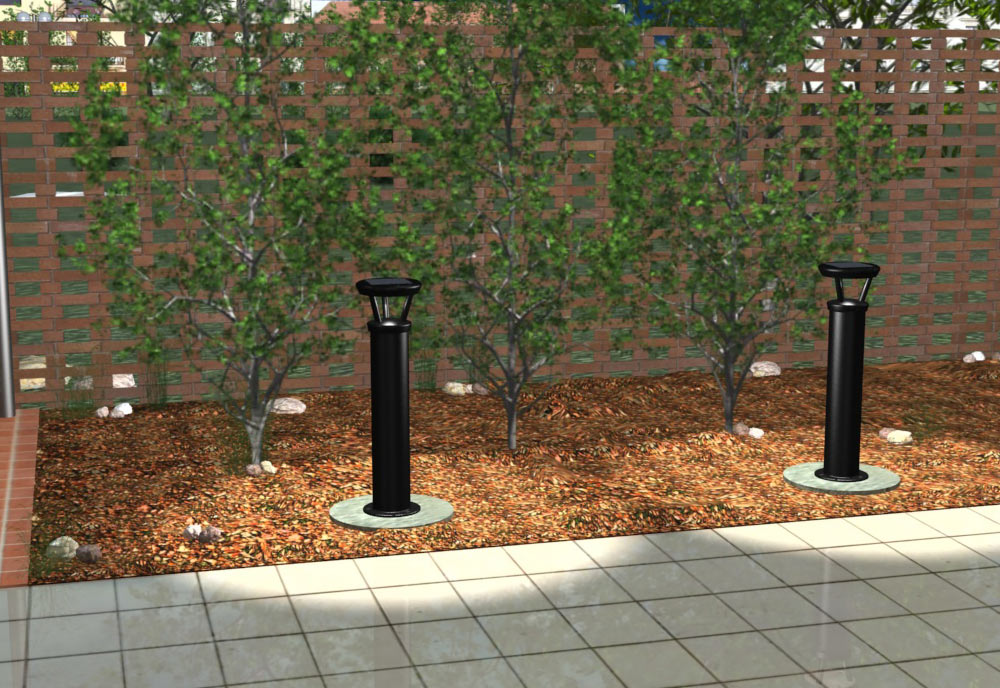 Reliance Foundry Solar Powered LED Pathway Bollards « Inhabitat U2013 Green  Design, Innovation, Architecture, Green Building