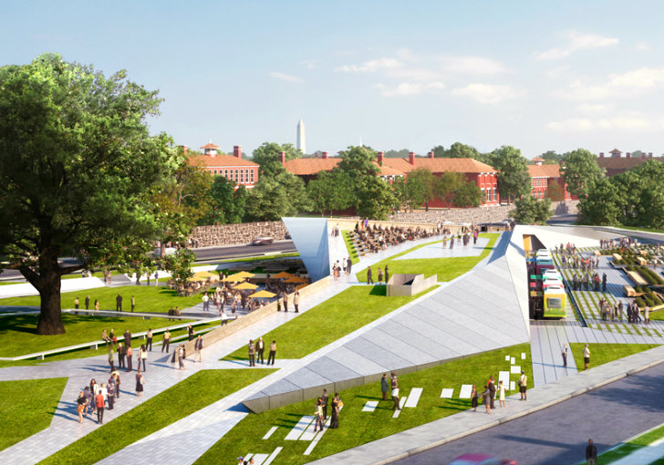 Davis brody bond wins competition to design sustainable st for Home gateway architecture