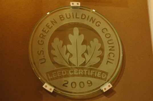 Leed certified federal building projects increase by more for Leed certified house
