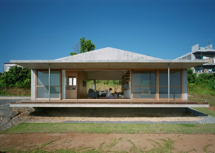 Villa921 Harunatsu Archis Storm Proof Tropical Island Bungalow Is Designed To Last