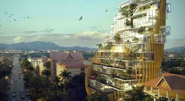 Tokamarch Architects, China, XishuangbanNa Residence, Bamboo, Urbanization, sustainable high-rise, green design, sustainable design, eco-design