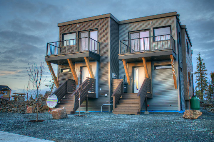 smplymod prefab duplex harnesses energy efficient design