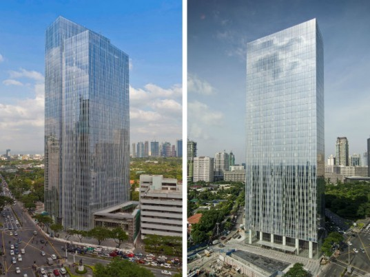 Zuellig Tower, Zuellig Building, SOM, Manila, eco tower, leed gold, leed gold pre-certified,