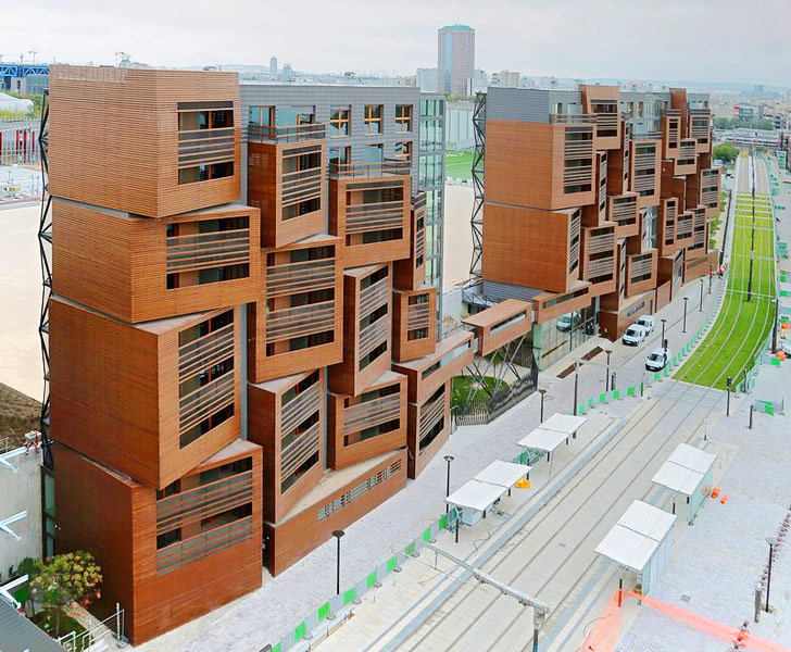 Basket apartments ofis unveils healthy sustainable for Best housing projects