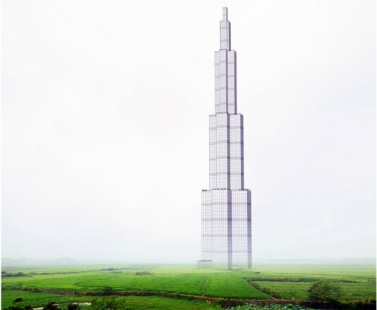 sky city, bsb, broad sustainable building, china, hunan, changsha, tallest building, skyscraper