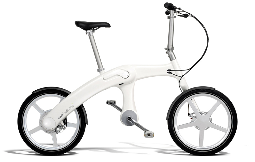 the e bike unchained pact folding footloose bicycle has a Battery Block innovation