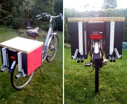 Berto Aussems Awesome Diy Bike Toolbox Is A Mobile