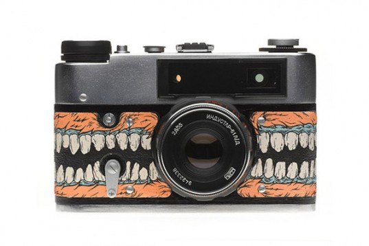 fourcornerstore, upcycled items, recycled materials, green design, sustainable design, vintage cameras, PHU, darkroom army