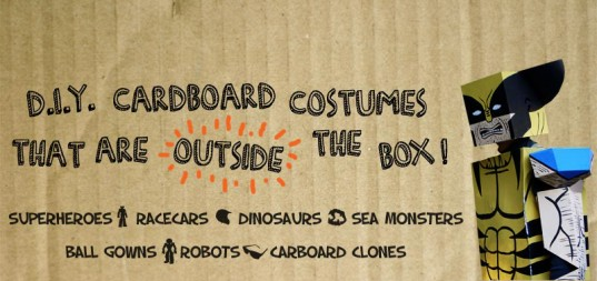 recycled materials, cardboard costumes, DIY, Halloween, talk of the town, Halloween costume ideas, ideas for Halloween costu