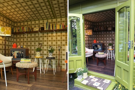 Intimate Garden Shed By Orla Kiely