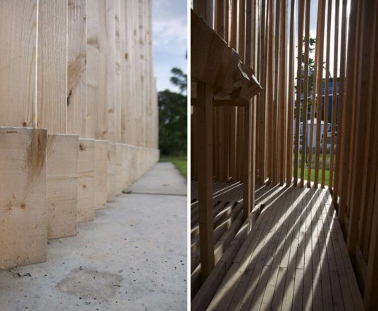 khor I, TAAT, berg horemans, temporary theater, gert-jan stam, wooden architecture, sustainable design, green architecture
