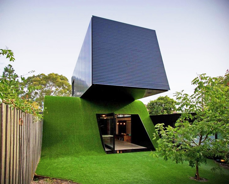 Andrew Maynard Architects Hill House Is A Louvered