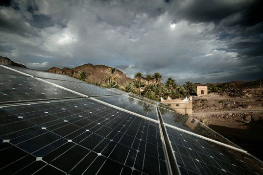 solar panels, renewable energy, desertec foundation, morocco