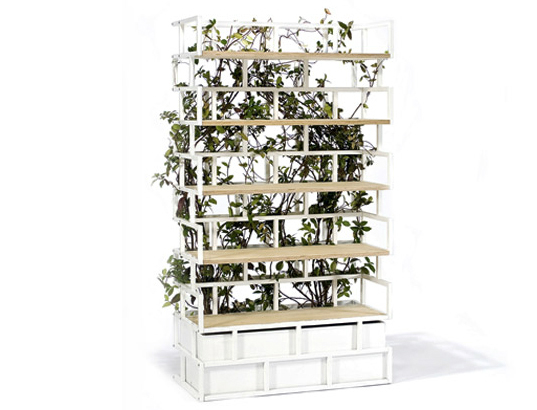 Nautinox, Italy, planter bookshelf, furniture, greenline, greenbook, sustainable design, green design, gardening, indoor gardening, plantable bookshelf, green bookshelf, sustainable bookshelf, eco bookcase