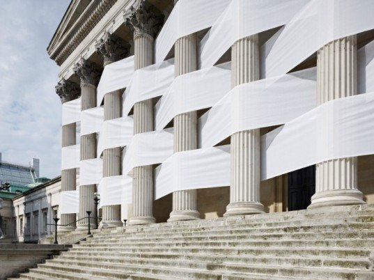 Portico, Nicholas Feldmeyer, Rochowski, UCL, redesigned spaces, sustainable architecture, green art, redesign, sustainable art