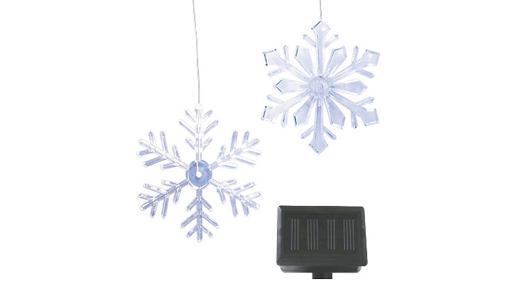 philips solar powered snowflake led lights inhabitat green design innovation architecture green building