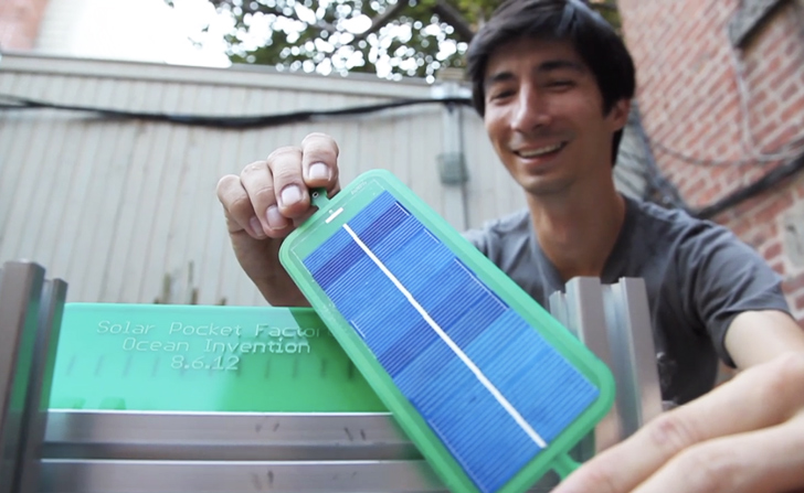 Diy Solar Pocket Factory Machine Can Print A Solar Panel