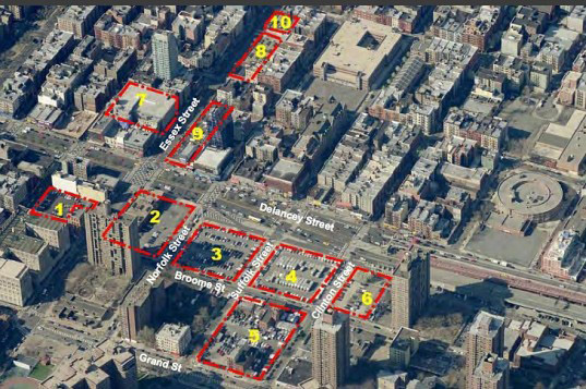 Lower east side development plans, lower east side redevelopment, spura, SPURA big box retail, SPURA development plans, spura redevelopment, walmart in lower east side