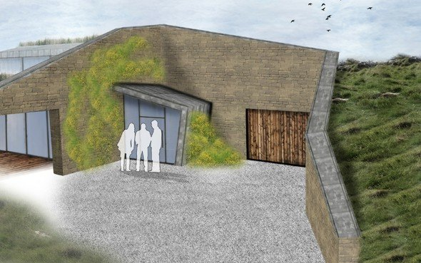 Paul testa designs an earth sheltered home to meet for Earth sheltered homes cost