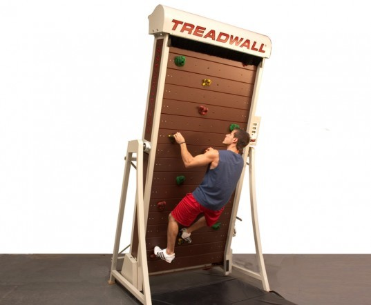 treadwall m4, automatic rock wall, rock climbing treadmill, treadwall, climber, treadmill, vertical, brewers ledge inc, rock climbing