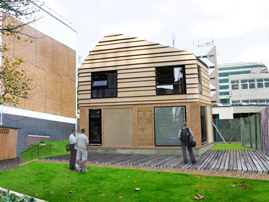 university of brighton, the house that kevin built, brighton, duncan baker-brown, waste, uk