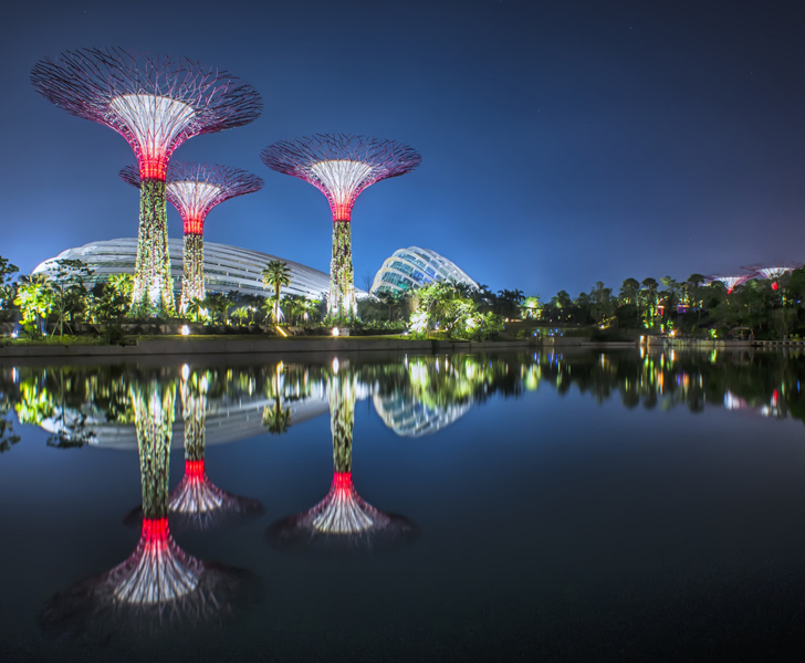 singapores gardens by the bay scoops prestigious building of the year award at the world architecture festival inhabitat green design innovation - Garden By The Bay Festival