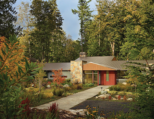 Woods Outback , washington architecture, nature architecture, green building, Geolette Hommas, green design, designing with nature