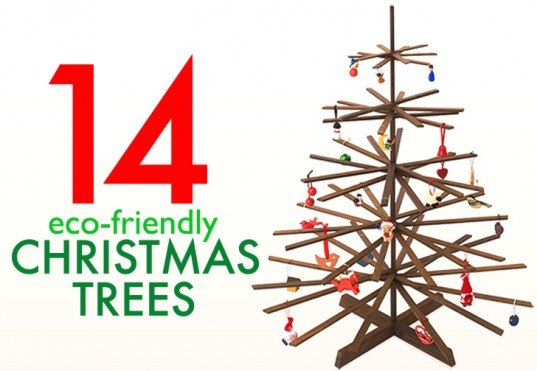 14 Faux Christmas Trees to Green Your Holidays | Inhabitat ...