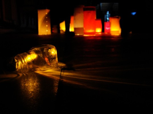 led lamp, caluclator lamp, honey bottle lamp, green lamp, recycle materials lamp, pankaj singh