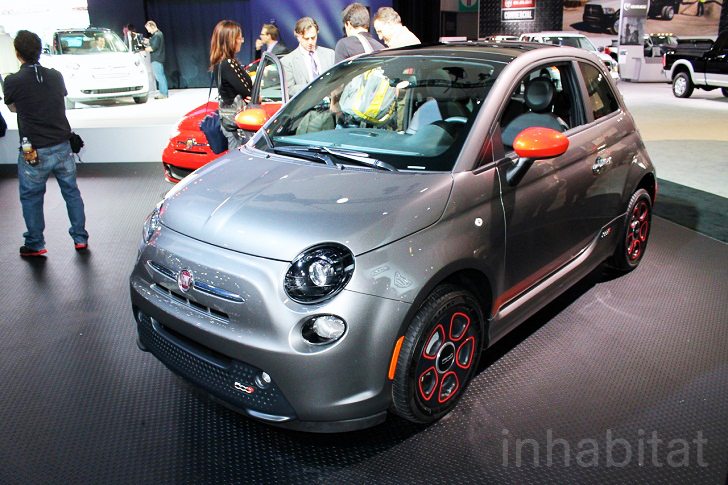 Fiat Electric Car >> 2013 Fiat 500e Electric Car Unveiled At The Los Angeles Auto Show